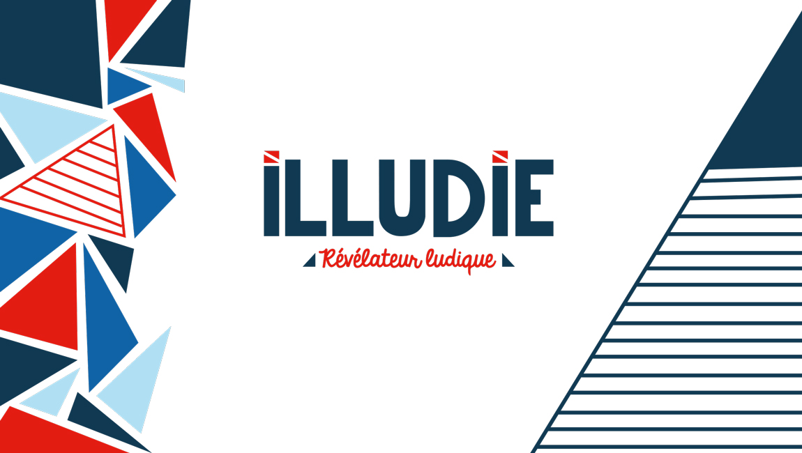 Illudie template ppt couverture
